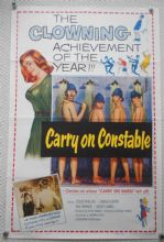 Carry on Constable, Movie Poster, Kenneth Williams, Sid James, '61